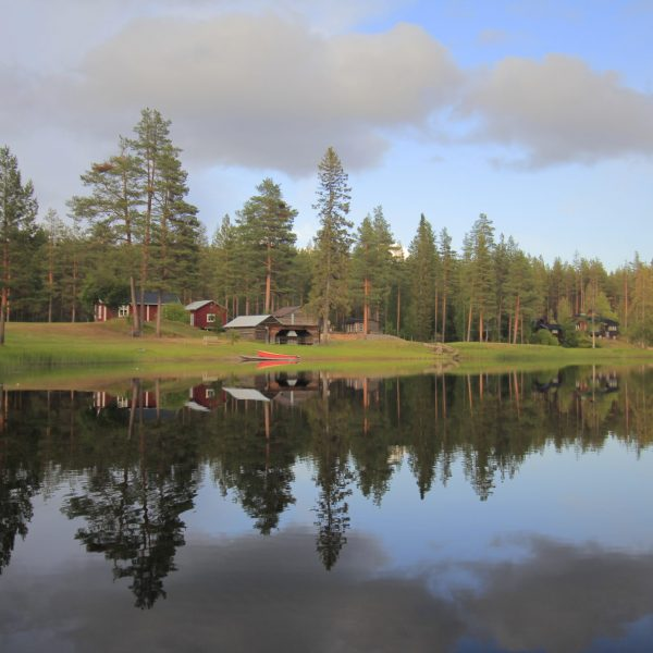 Rivière en Laponie suédoise