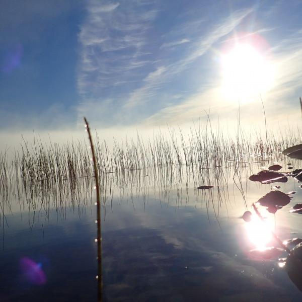 lac, Laponie Suédoise