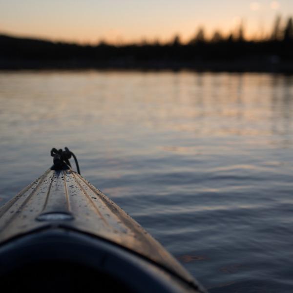 canoê, Laponie Suédoise