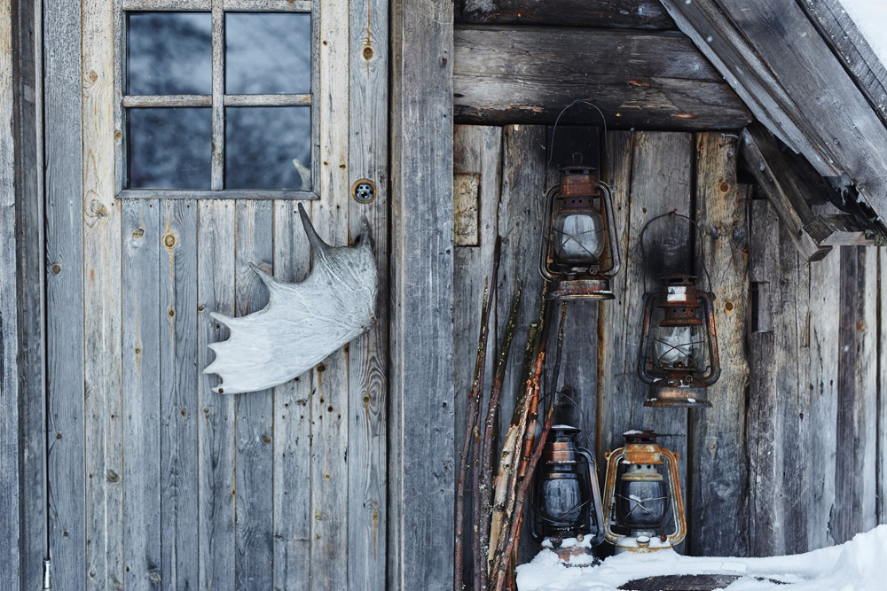 Hébergement en chalet en Laponie Suédoise, Suède