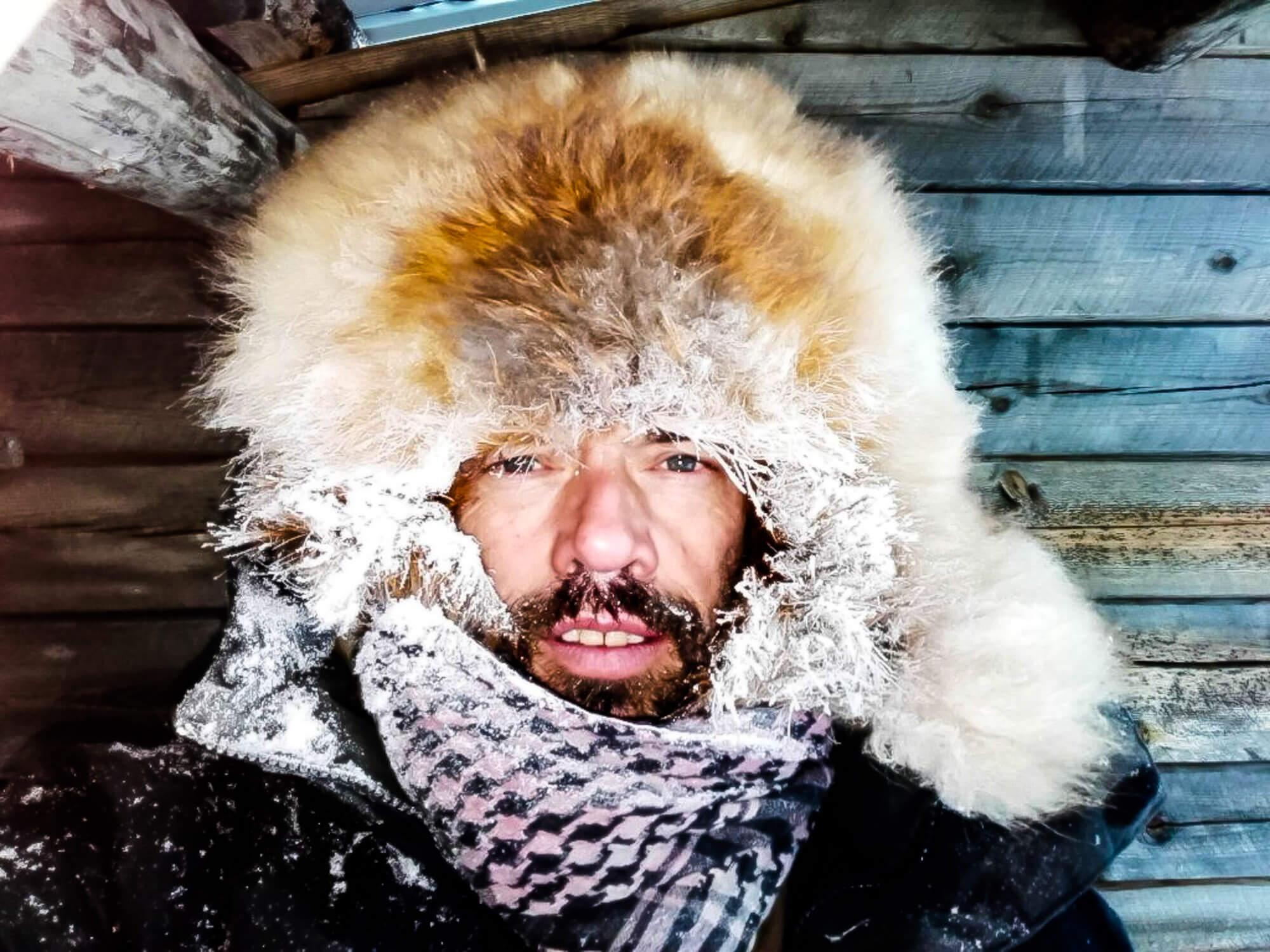 Portrait of a musher - Flarken Adventure in Swedish lapland