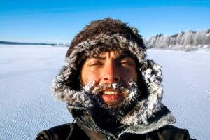 Un des guides des séjours multi-activités hiver en Laponie