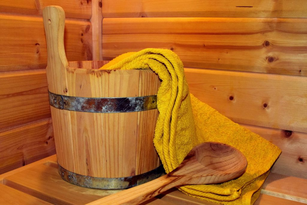 Sauna en Laponie suédoise