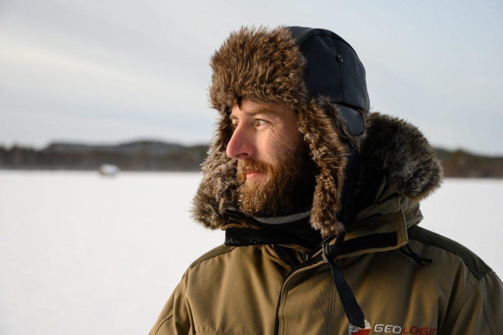 Seb, Globe Blogueur, chez Flarken Adventure en Laponie suédoise