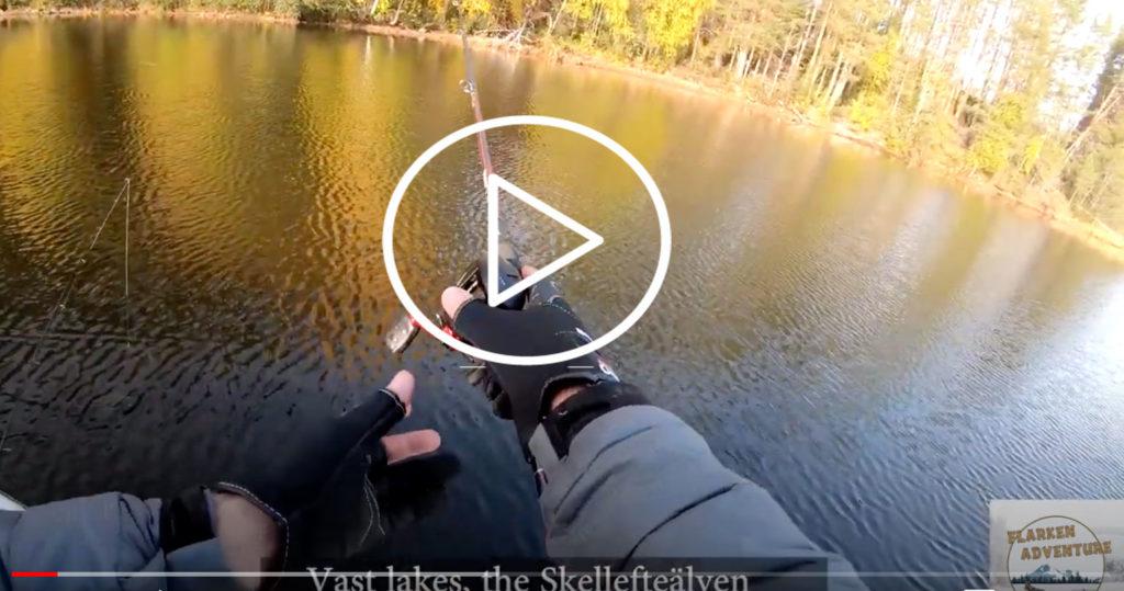Vidéo de Fishtique en Laponie suédoise