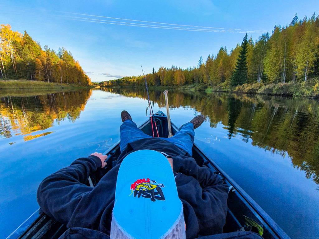 Fishtique en voyage de pêche en Laponie suédoise