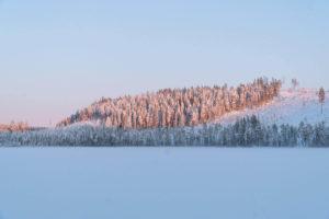 Températures hivernales dans le Grand Nord