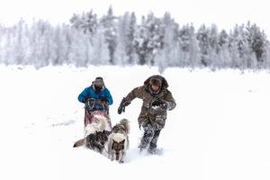 Blouson grand froid dans le Grand Nord