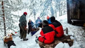 Combinaisons Grand Froid en Laponie suédoise