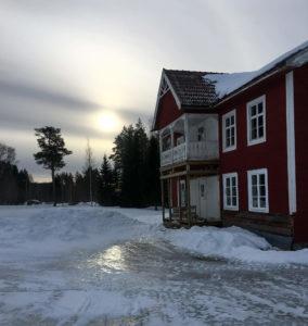 Maison typique de Suède