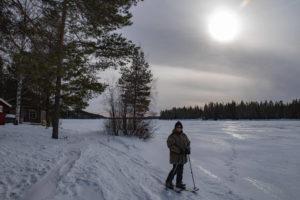 Ski altai en Laponie suédoise