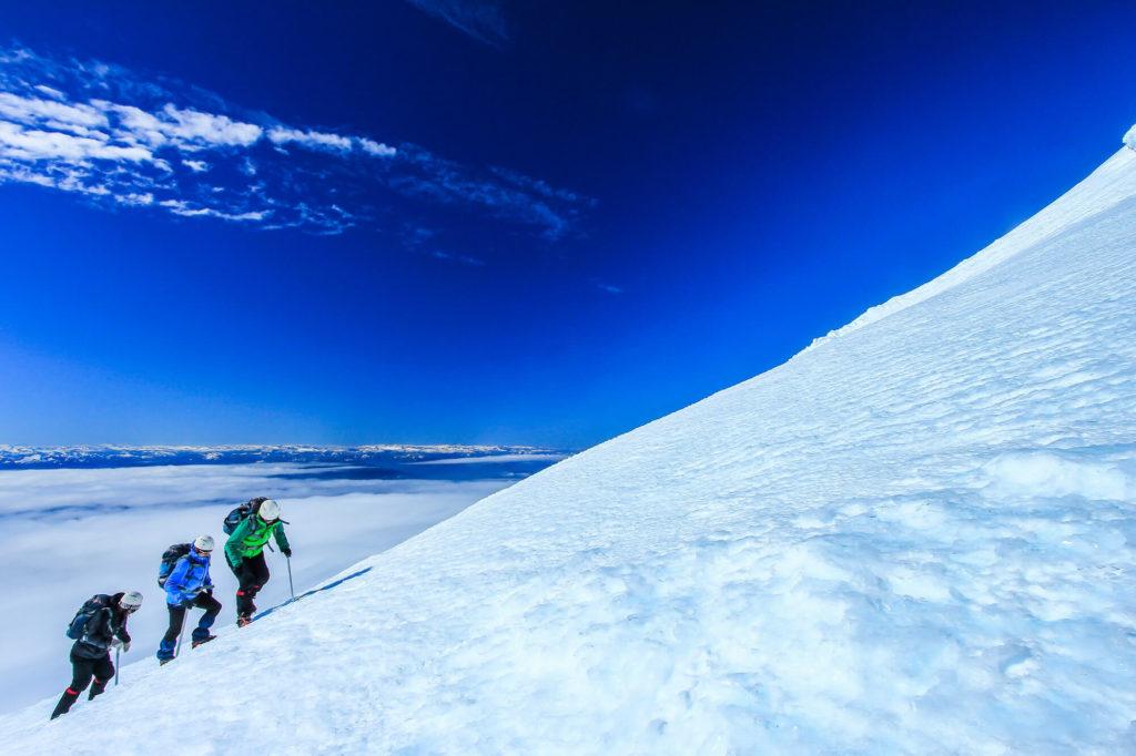 Ascension du volcan Villarica au Chili