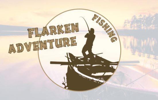 Logo de Flarken Fishing Adventure - séjour de pêche en laponie suédoise